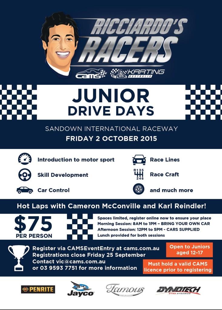 Ricciardo Racers Sandown
